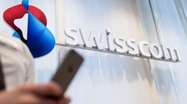 Swisscom, utile in leggero calo