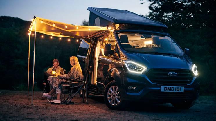 Le vacanze con un camper come questo Ford sono sempre più gettonate