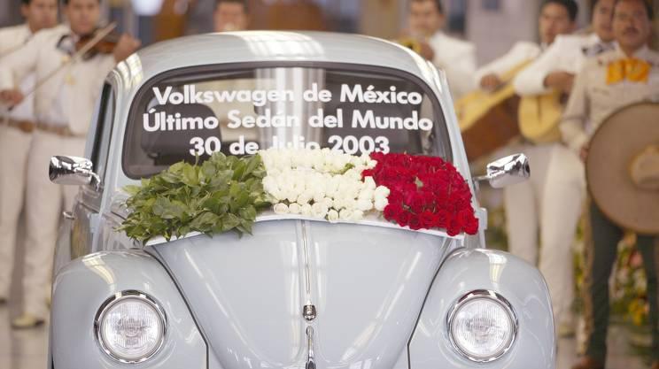 L'ultimo Maggiolino originale assemblato a Puebla, in Messico, nel 2003
