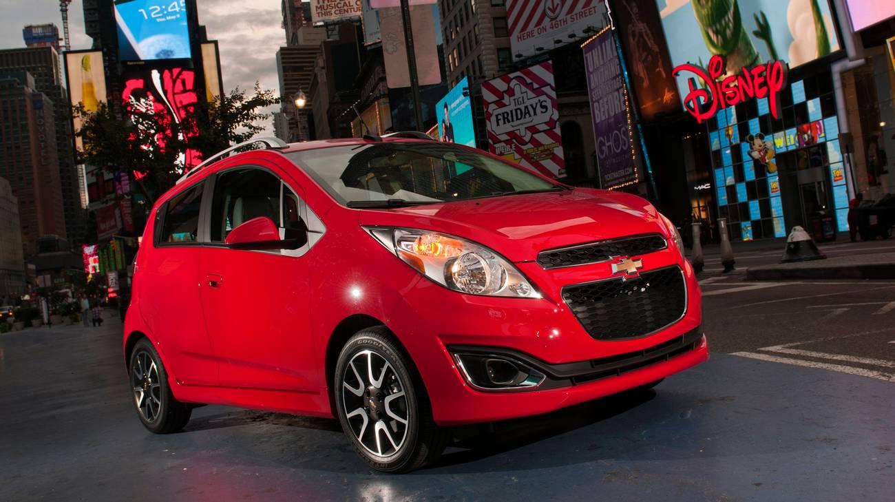 Tra le vetture prodotte da Chevrolet in Corea ci sono citycar come questa Spark del 2013