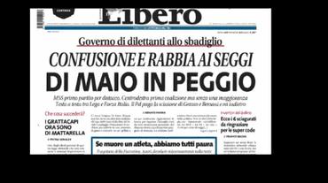 #Politiche2018: la lettura dei quotidiani italiani
