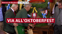 Aperta l'Oktoberfest