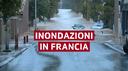 Francia, allarme maltempo al sud