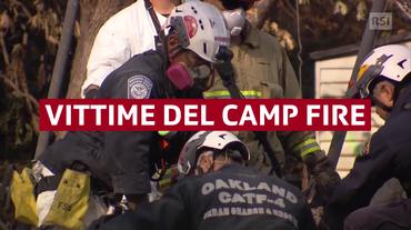 Continua la lotta al Camp Fire