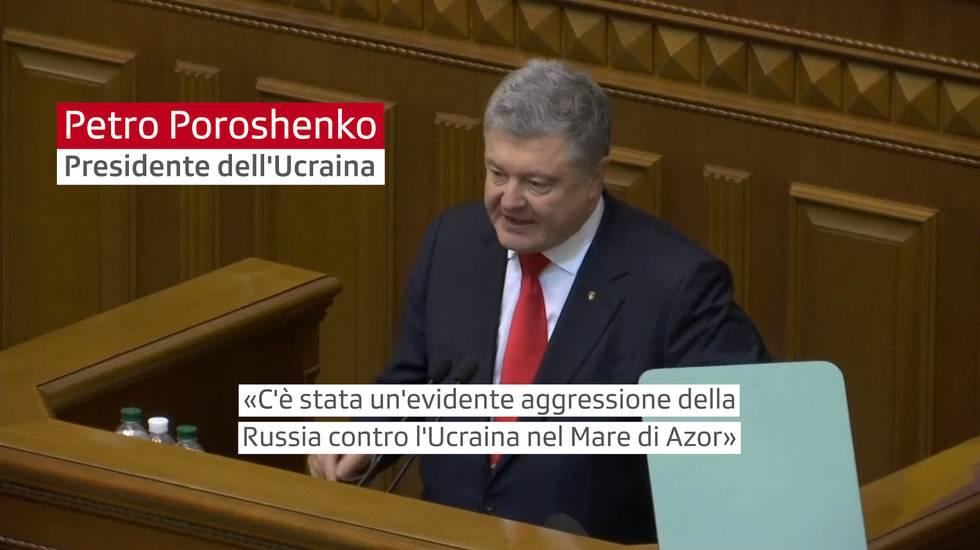 L'approvazione della legge marziale in Ucraina