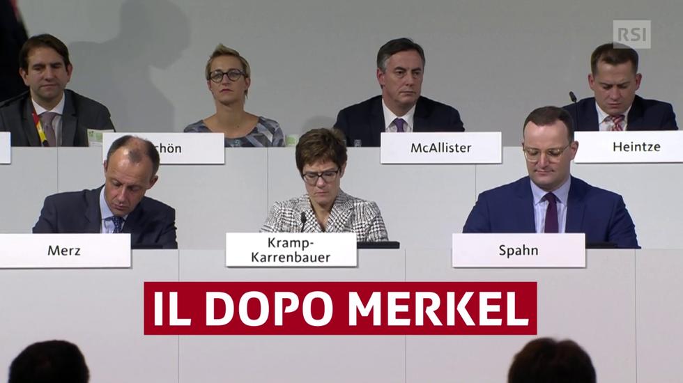 Annegret Kramp-Karrenbauer eletta erede di Angela Merkel alla guida della CDU