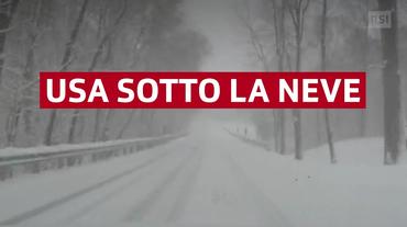 USA nella morsa della neve