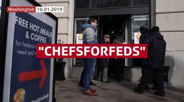 Chefs stellati contro lo shutdown
