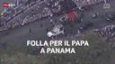 Il Papa dai giovani a Panama