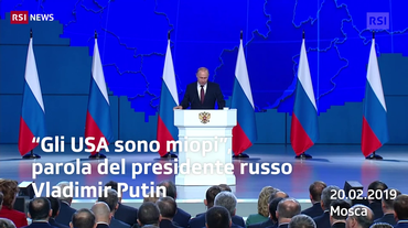 "Putin: ""Risponderemo agli USA"""