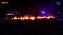 Catalogna bloccata dalla protesta