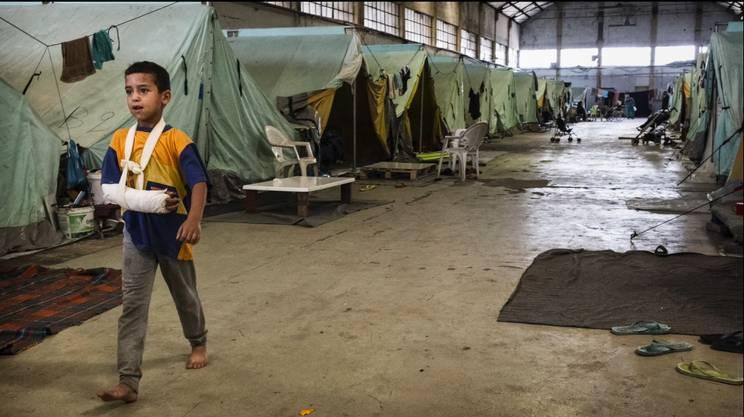 Risultati immagini per campi profughi a sindos rsi