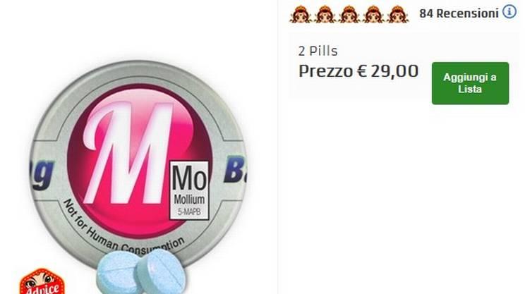 5-MAPM: un derivato anfetaminico venduto online con la dicitura