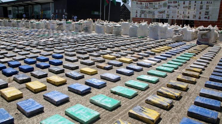 8 tonnellate di cocaina sequestrate in a Turbo, in Colombia: un record