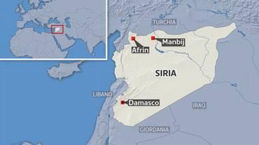 Un'alleanza curdo-siriana