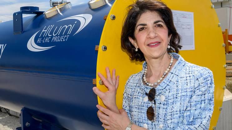 Al CERN poche donne, ma una è ai comandi: l'italiana Fabiola Gianotti