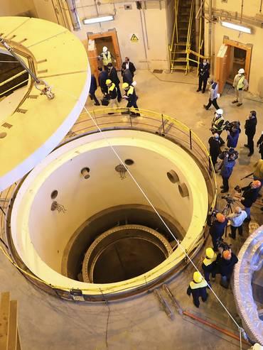 All'interno di un impianto nucleare