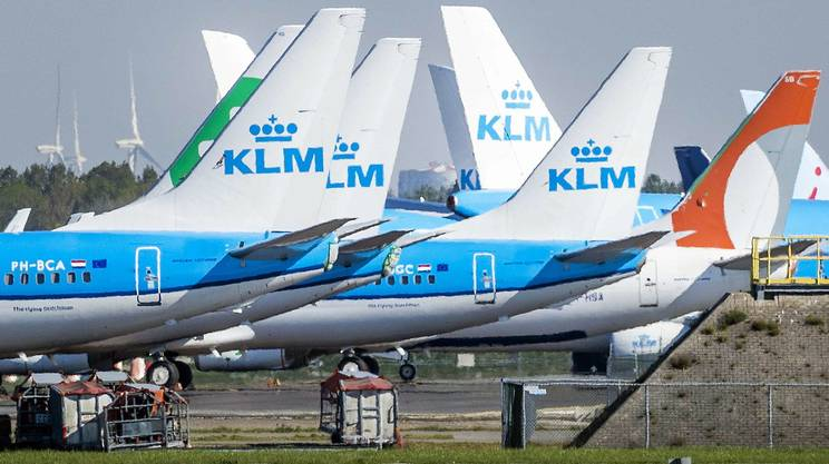 Anche l'Olanda punta ad aiutare KLM