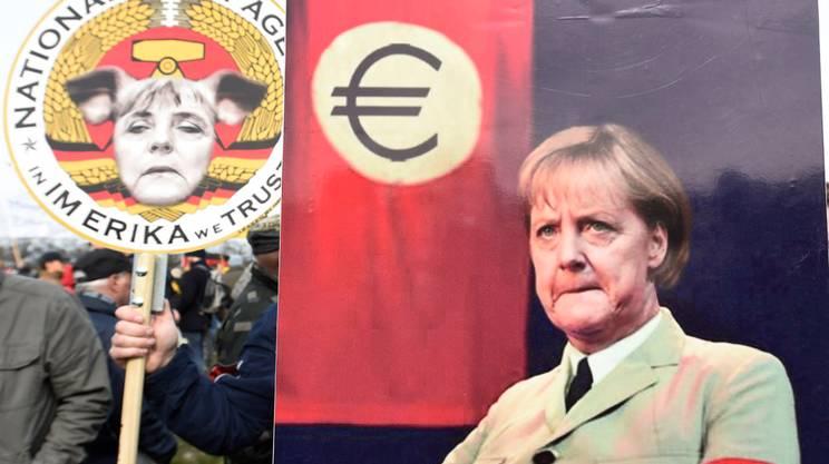 Angela Merkel è il nemico politico numero uno