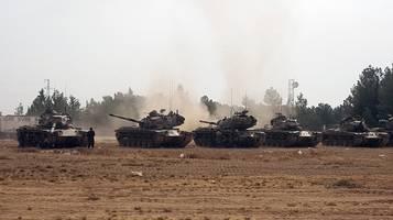 Siria, bombe turche sui curdi