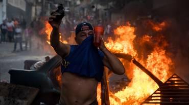 Caserma occupata in Venezuela