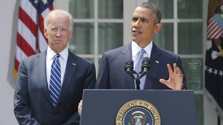 Biden e Obama nel 2013