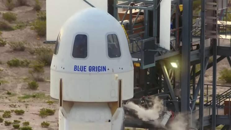 Blue Origin ha completato la sua missione