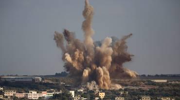 Attacchi aerei contro Hamas
