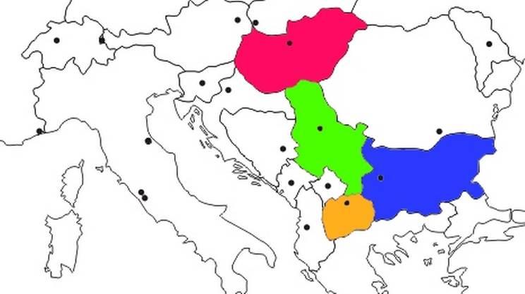 Dalla Grecia verso l'UE attraverso Macedonia, Bulgaria e Serbia per arrivare in Ungheria