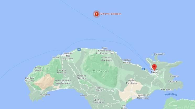 Dov'è avvenuto il terremoto