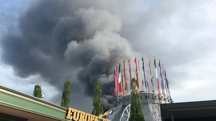 Incendio all'Europa Park