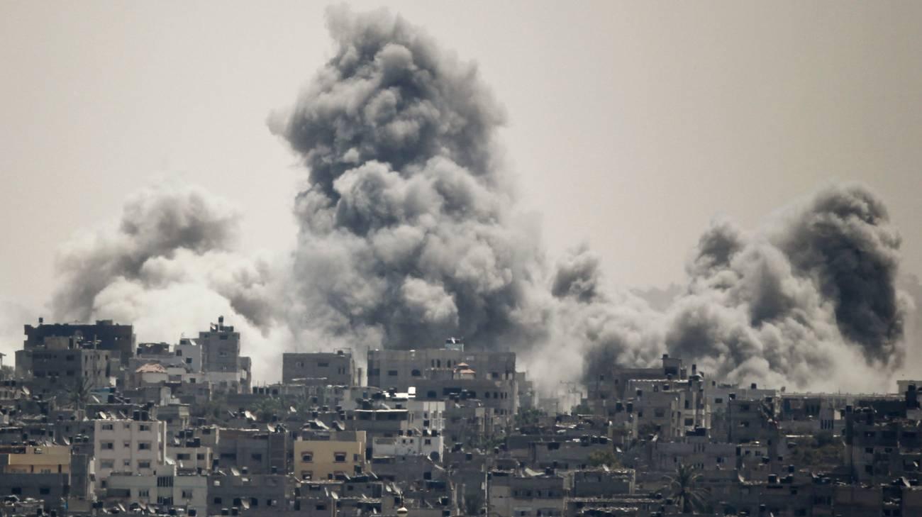 Gaza sotto le bombe da ormai 20 giorni
