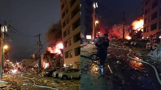 Esplosione al ristorante