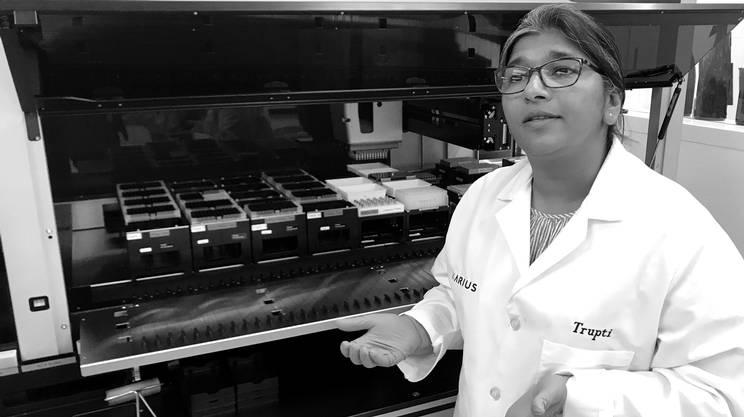 Grazie al machine learning in questi laboratori viene individuata la sequenza del DNA di oltre 1'400 batteri e virus che provocano malattie infettive