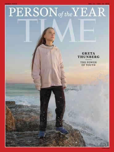 Greta Thunberg, persona dell'anno per il Time