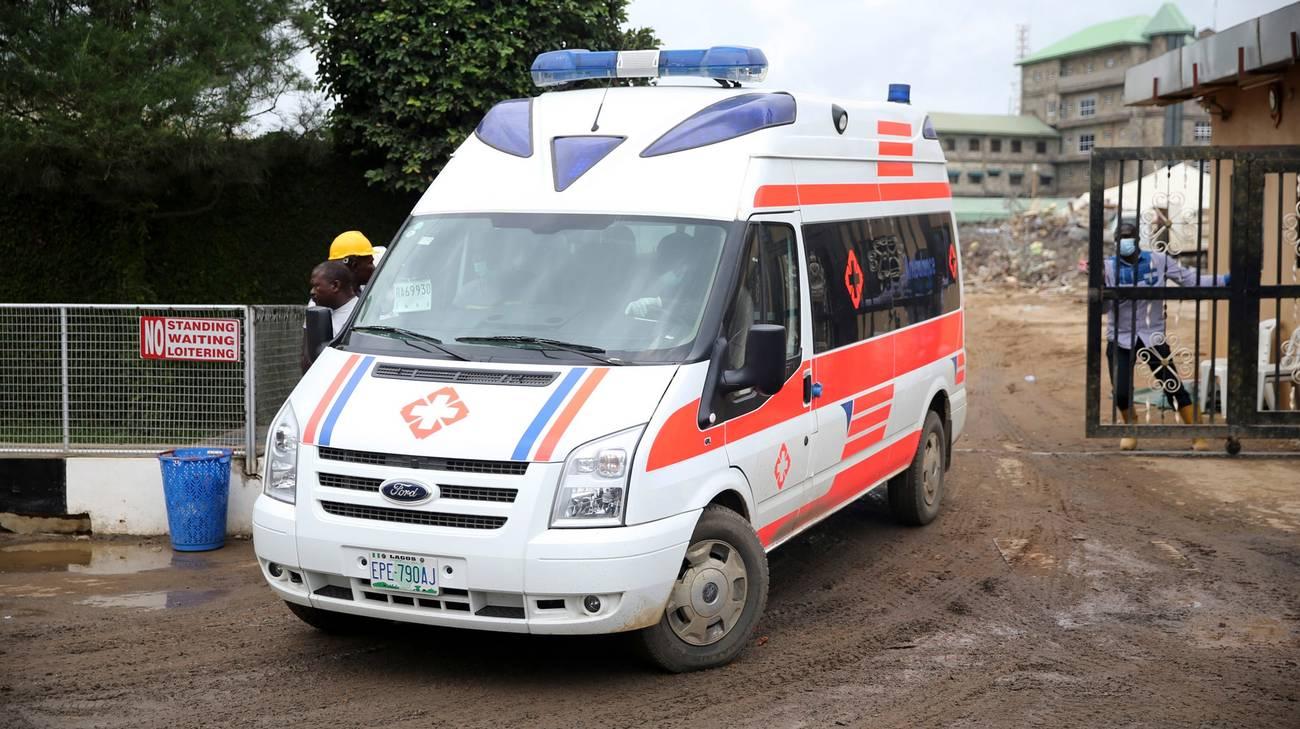 I soccorritori sono intervenuti in aiuto dei fedeli bersaglio dell'attacco
