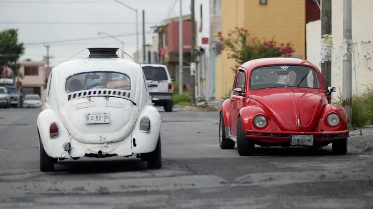 Il Maggiolino Volkswagen è ancora molto diffuso in nazioni come il Messico