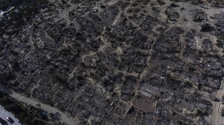 Il campo bruciato