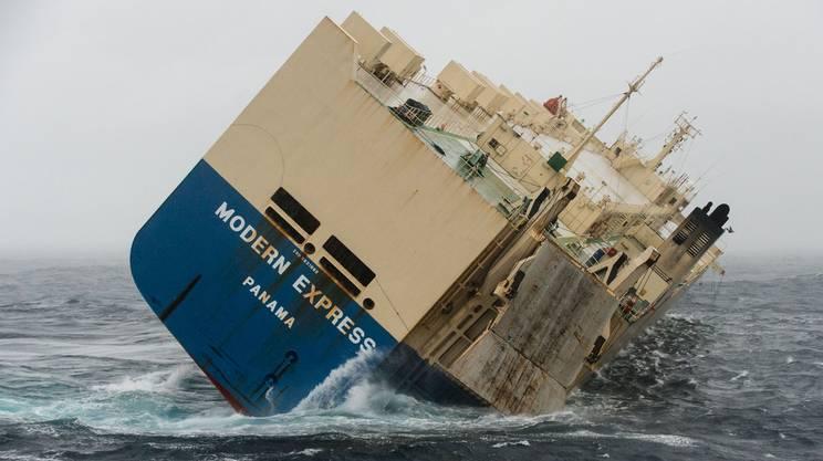 Il cargo batte bandiera panamense