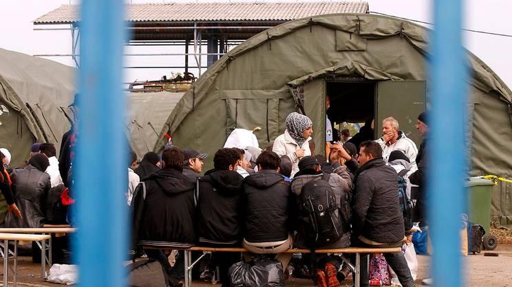 Il centro migranti di Opatovac dove Ahmad Almuhammad è stato registrato il 7 ottobre
