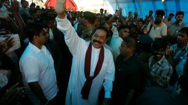 Sri Lanka, Rajapakse se ne va