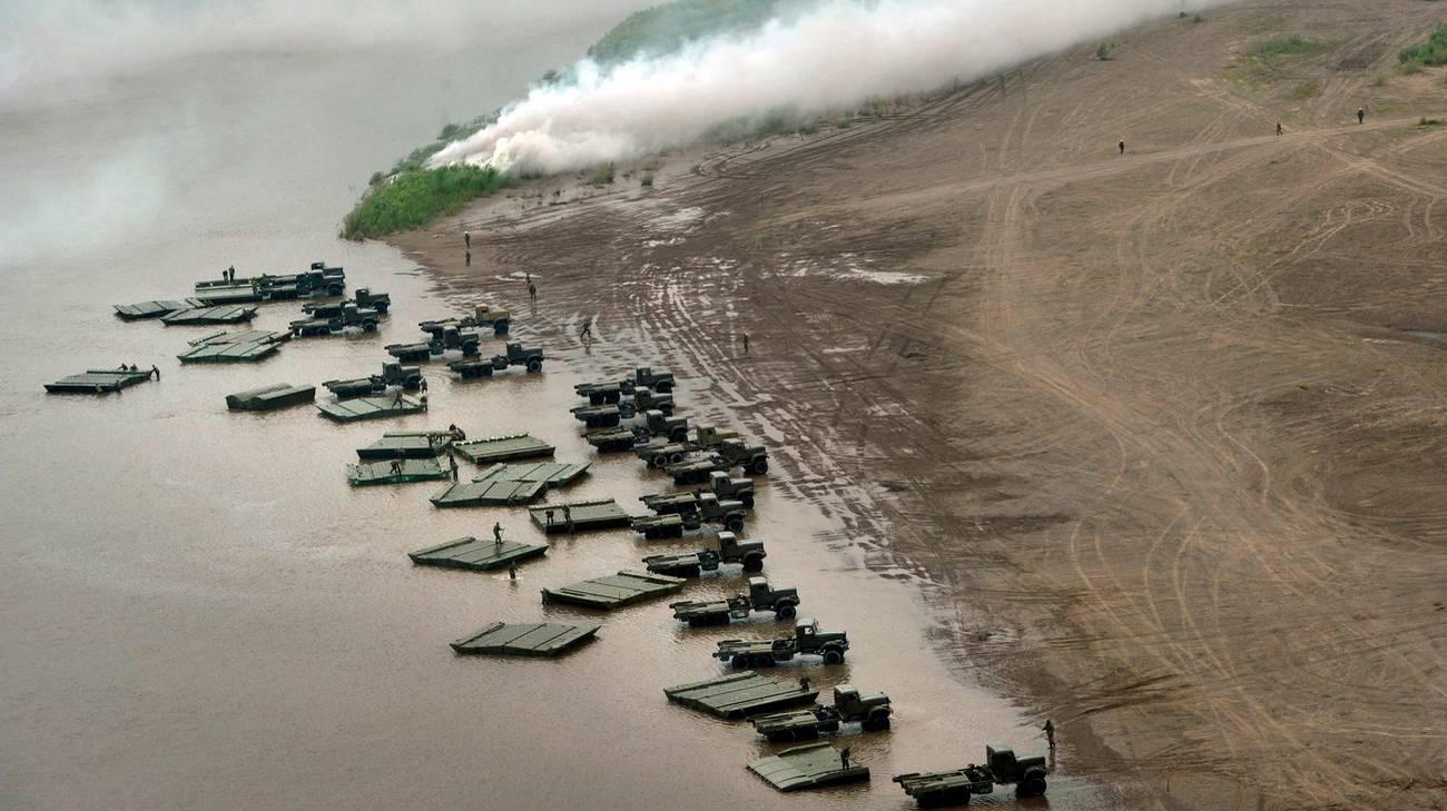 Il lago siberiano è spesso teatro di esercitazioni militari, che contribuiscono all'inquinamento