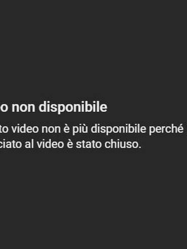 Il messaggio che accompagna i video caricati da Dieudonné su Youtube