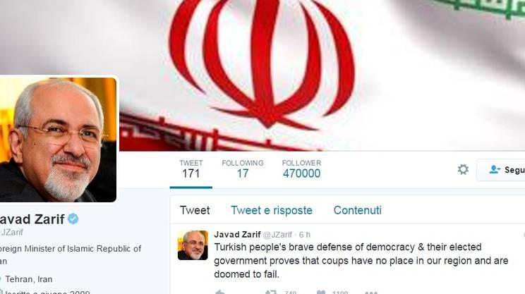 Il messaggio di Javad Zarif
