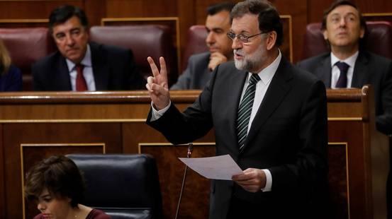 Rajoy mostra i muscoli