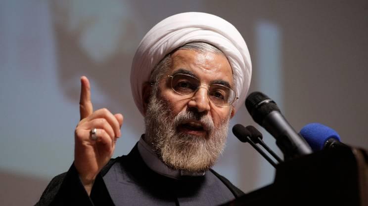 Il presidente iraniano Hassan Rohani (744×417)