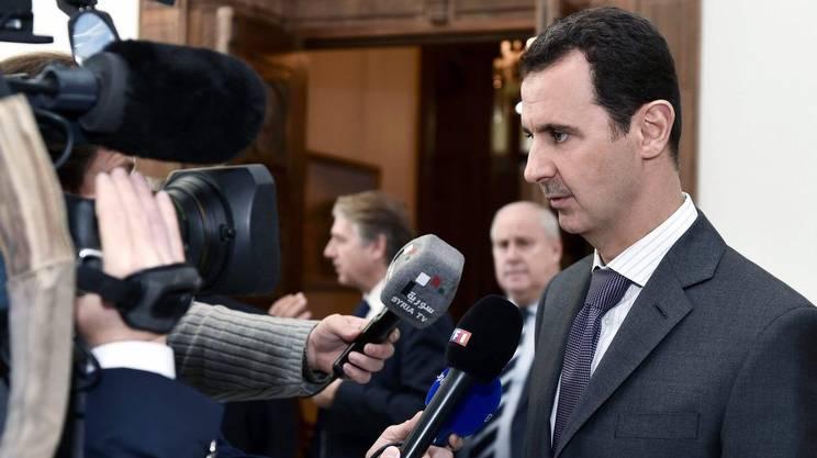 Il presidente siriano al-Assad