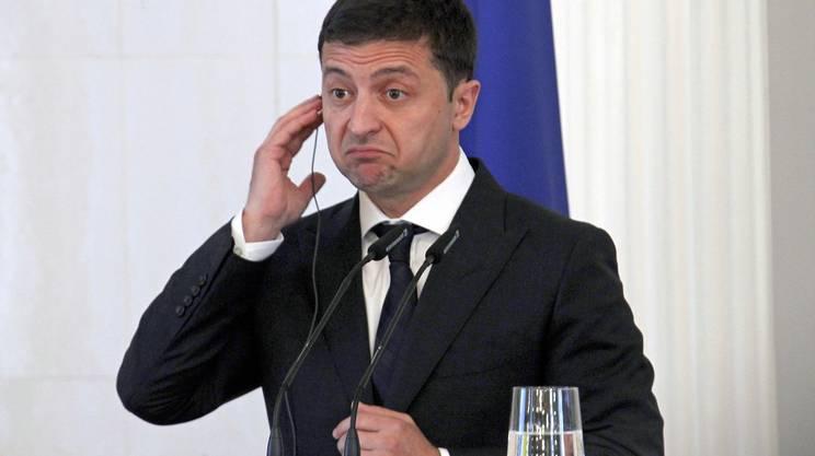 Il presidente ucraino Volodymyr Zelensky