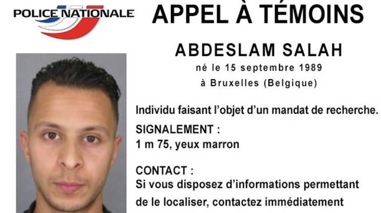 Il presunto terrorista in fuga Salah Abdeslam (attacco al Bataclan), 26 anni