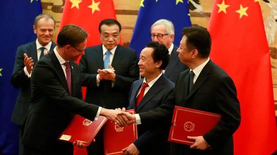 L'UE incontra la Cina